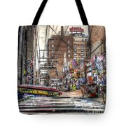 A Colorful Place To Sleep Tote Bag