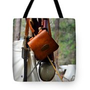 A Confederate Soldiers Life Tote Bag