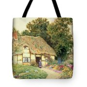 A Cottage By A Duck Pond Tote Bag