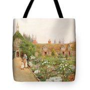 A Country Garden At Bray, Berkshire Tote Bag