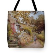 A Country Lane Tote Bag