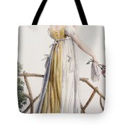 A Country Style Ladies Dress Tote Bag