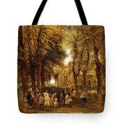 A Country Wedding Tote Bag by Charles Thomas Burt