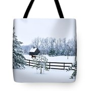 A Country Winter Tote Bag