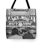 A Couple Shopping Tote Bag
