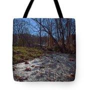 A Creek Runs Though It Tote Bag