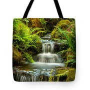 A Creek Runs Through Tote Bag