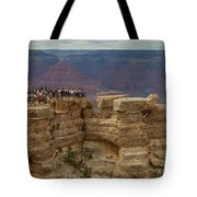 A Crowd And A Canyon Tote Bag