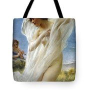 A Dance By The Sea Tote Bag
