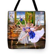 A Dance For All Seasons Tote Bag by Reggie Duffie