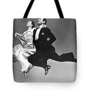 A Dance Team Does The Rhumba Tote Bag