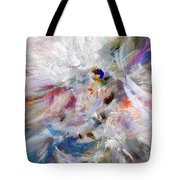 A Dance With Paint Tote Bag