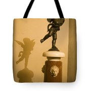 A Dancing Cupid In The Palazzo Vecchio Tote Bag