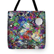 A Dash Of Abstract Imagery Tote Bag