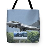 A Dassault Rafale Of The French Air Tote Bag