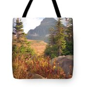 A Day At Glacier Tote Bag by Richard Rizzo