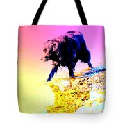 a pretty hot day at the beach and I need to be chilling my feet  Tote Bag
