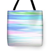 A Day At The Beach Pastels Tote Bag