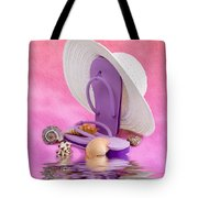 A Day At The Beach Still Life Tote Bag