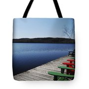 A Day At The Cottage Tote Bag
