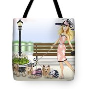 A Day At The Derby Tote Bag
