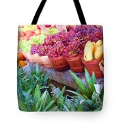 A Day At The Market #15 Tote Bag