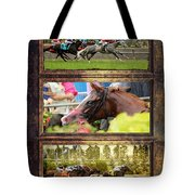 A Day At The Races Tote Bag