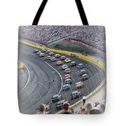 A Day At The Racetrack Tote Bag