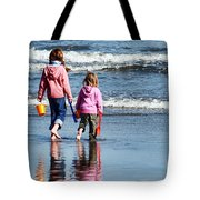 A Day At The Seaside  Tote Bag