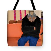 A Day At The Va Clinic Tote Bag