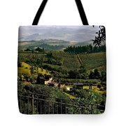 A Day In Tuscany Tote Bag
