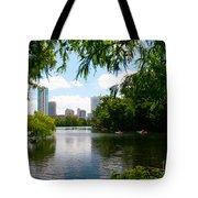 A Day On Ladybird Lake Tote Bag