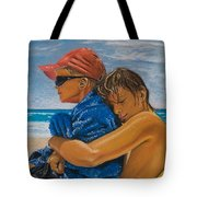 A Day On The Beach Tote Bag