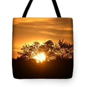 A Day's End Tote Bag