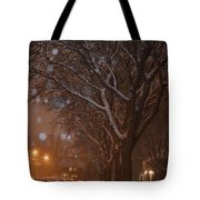 A December Night Tote Bag