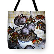 A Dedication To Vincent's 125 Year Anniversary Of His Death - 1890-2015 Tote Bag