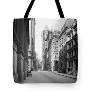 A Deserted Wall Street Tote Bag