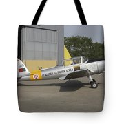 A Dhc-1 Chipmunk Trainer Aircraft Tote Bag