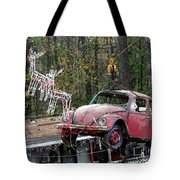 A Difference Sleigh  Tote Bag