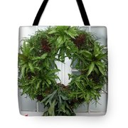 A Different Christmas Wreath Tote Bag