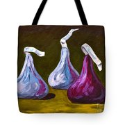 A Different Kind Of Kiss Tote Bag
