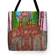 The Leaning Table Tote Bag