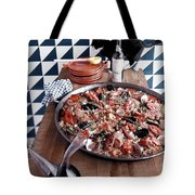 A Dish Of Paella Tote Bag