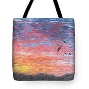 A Distant Time Tote Bag