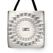 A Dizzying Amount Of Money Tote Bag