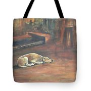 A Dog's Life. Tote Bag