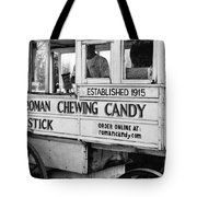 A Dollar A Stick Roman Chewing Candy In Bw Tote Bag