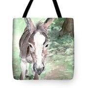 A Donkey Day Tote Bag