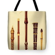 A Double Flageolet, A German Flute Tote Bag