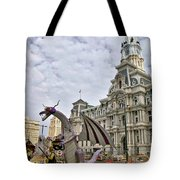 A Dragon In Philly Tote Bag